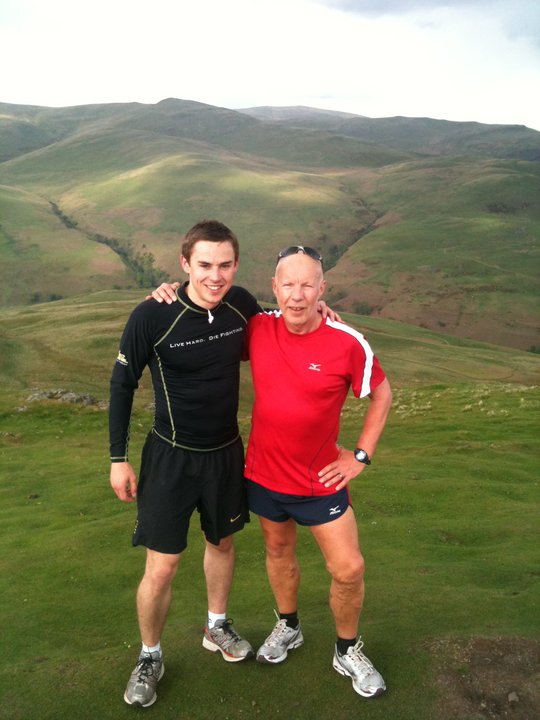 Tommy & I at the top of the infamous Dumyat hill a few years back.