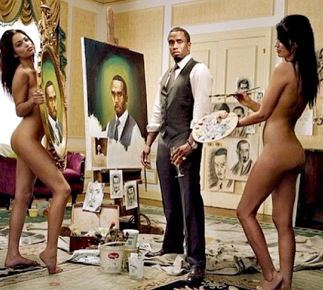 diddy with naked girls